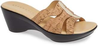 Athena Alexander Sharbat Wedge Slide Sandal
