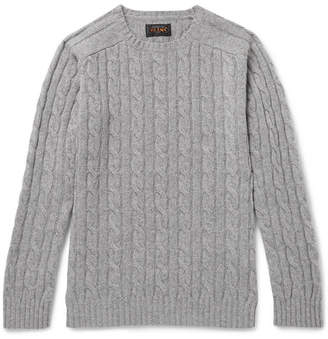Beams Cable-Knit Wool-Blend Sweater