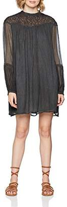Replay Women's W9464 .000.83036f Dress, (Black 98), X-Small