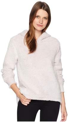 True Grit Dylan by Fresh Air Fleece Cozy Hoodie with Reverse Cuff Women's Sweatshirt