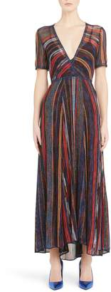 Missoni Metallic Stripe Knit Dress