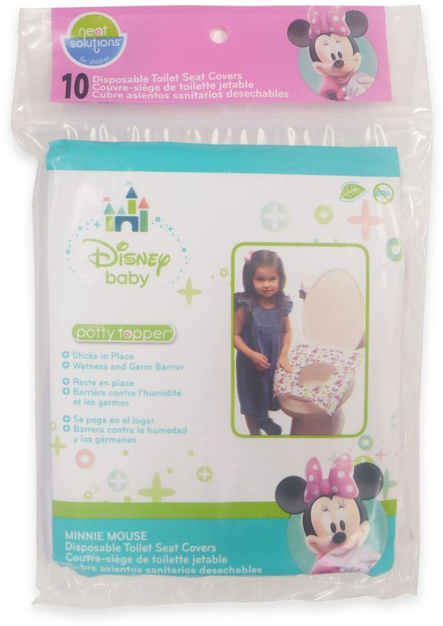 Neat Solutions 10-Count Minnie Mouse Bow-tique Potty Topper