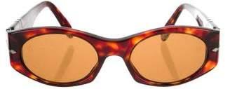 Persol Tortoiseshell Narrow Sunglasses