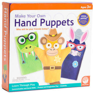 Make Your Own Hand Puppets Kit