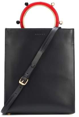 Marni Pannier leather tote