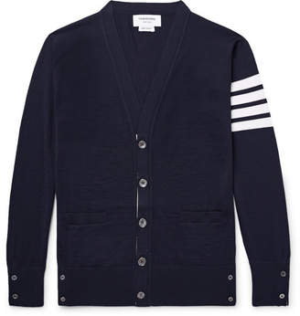 Thom Browne Striped Wool Cardigan
