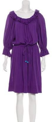 Fendi Off-The-Shoulder Knee-Length Dress w/ Tags