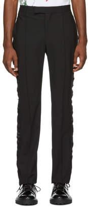 Yang Li Black Tuxedo Trousers