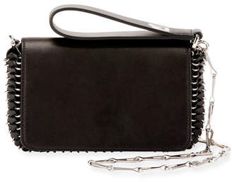 Paco Rabanne Calfskin Mini Shoulder Bag
