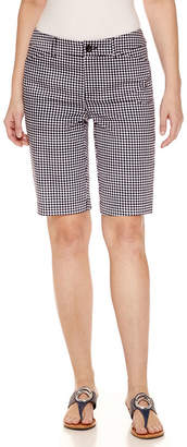 ST. JOHN'S BAY Secretly Slender 11 Twill Bermuda Shorts