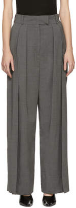 Awake Grey Double Pleated Trousers