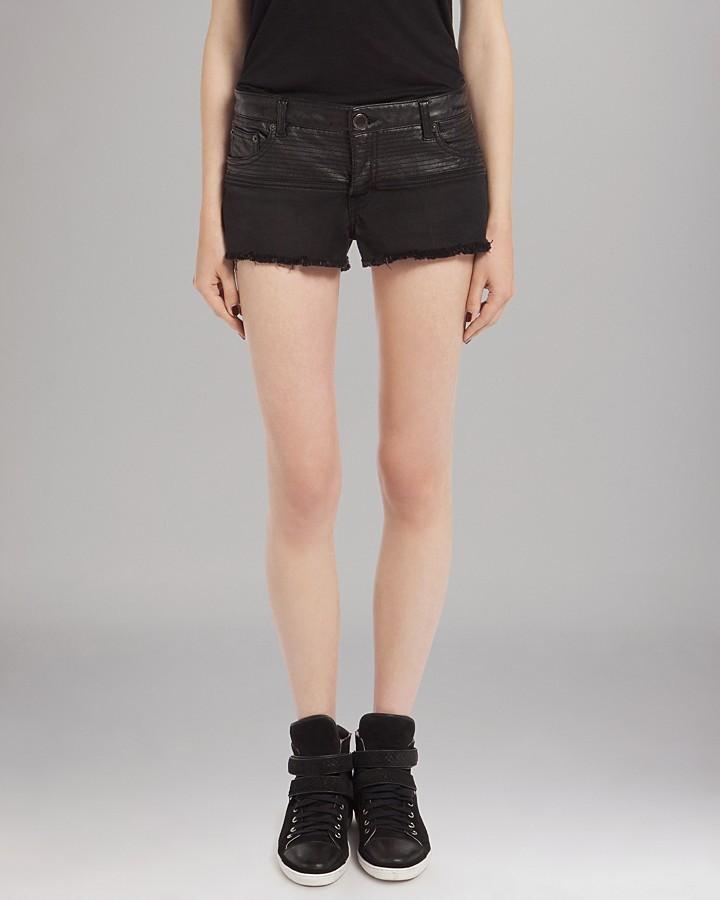 Maje Shorts - Faux Leather