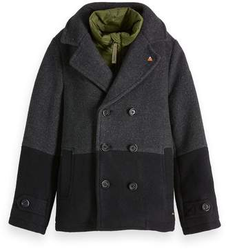 Scotch & Soda Wool Pea Coat
