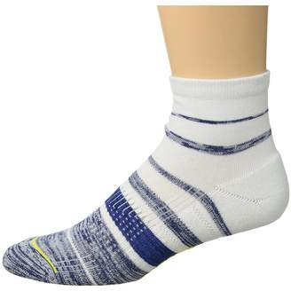 Cole Haan ZeroGrand Melange Stripe Men's Crew Cut Socks Shoes