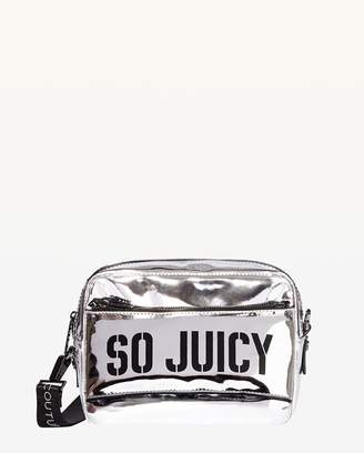 Juicy Couture JXJC Kira Mirror Metallic Crossbody Bag