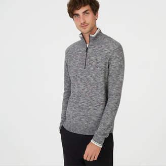 Club Monaco Wool Quarter-Zip Sweater