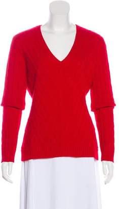 Ralph Lauren Black Label Wool Cable Knit Sweater