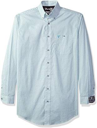 Wrangler Men's 20X Competition Tall Long Sleeve Button Front Shirt