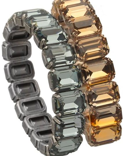 LK Designs Crystal Stretch Bracelets