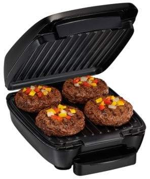 Hamilton Beach Indoor Grill with Removable Grids 25357C