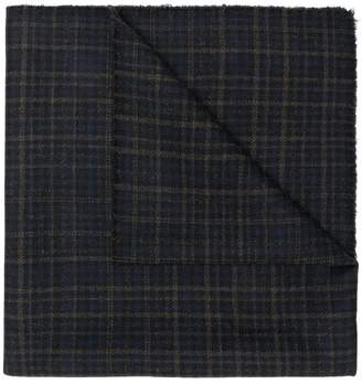 Stephan Schneider Bleach checked scarf
