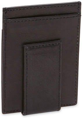 Claiborne Leather Wallet w/ Magnet Clip