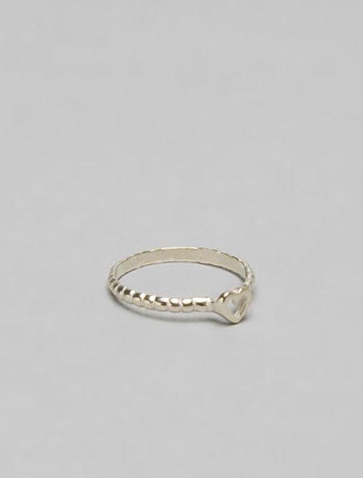 Gorjana Tress Heart Ring