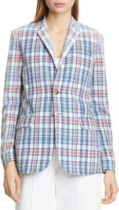 Polo Ralph Lauren Madras Plaid Blazer