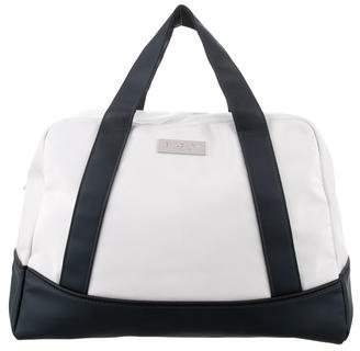 Bvlgari Leather-Trimmed Bowler Bag