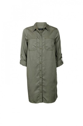 Nikita Military Shirt Dress