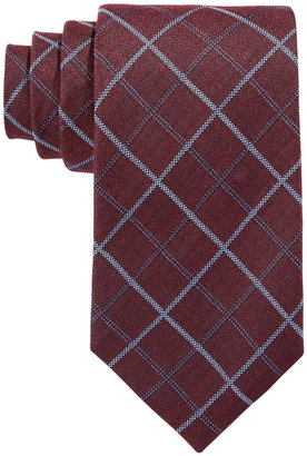 Tasso Elba Men's Seasonal Grid Tie, Only at Macy's $59.50 thestylecure.com