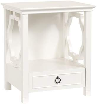 Pottery Barn Teen Elsie Bedside Table, Simply White