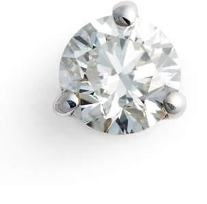 Bony Levy Single Diamond Stud Earring