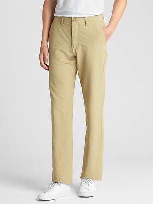 Gap Hybrid Khakis in Straight Fit with GapFlex