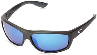 Costa del Mar Unisex-Adult Saltbreak BK 11 OGMGLP Polarized Iridium Wrap Sunglasses