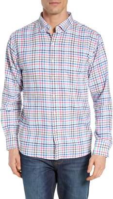 Tommy Bahama Haku Check Linen Blend Sport Shirt