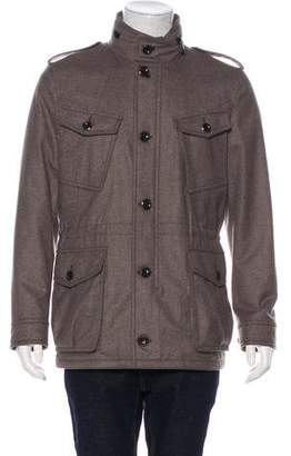 Tom Ford Felted Military Field Jacket