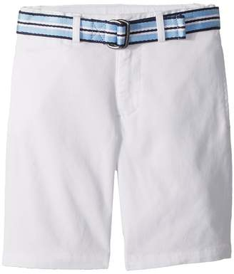 Polo Ralph Lauren Slim Fit Belted Stretch Shorts Boy's Shorts