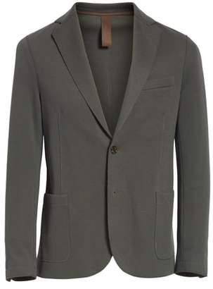 Eleventy Trim Fit Stretch Cotton Blend Blazer