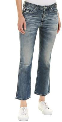 AG Jeans The Jodi 23 Years Wind Worn High-Rise Slim Flare Crop