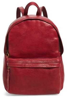 Madewell Lorimer Leather Backpack
