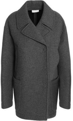 DKNY Double-Breasted Wool-Blend Coat