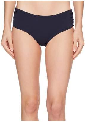 MICHAEL Michael Kors Shirred Bikini Bottoms Women's Swimwear