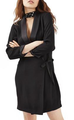 TOPSHOP Wrap Blazer Dress $100 thestylecure.com