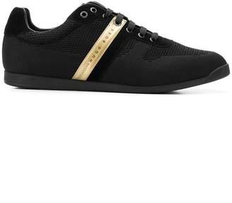HUGO BOSS contrast side logo sneakers