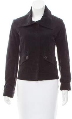 Burberry Long Sleeve Corduroy Jacket