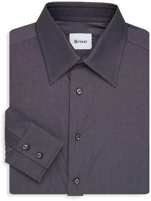 Brioni Men's Button-Front Dress Shirt