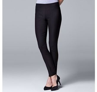 Women's Simply Vera Vera Wang Twill Panel Pull On Pants $44 thestylecure.com