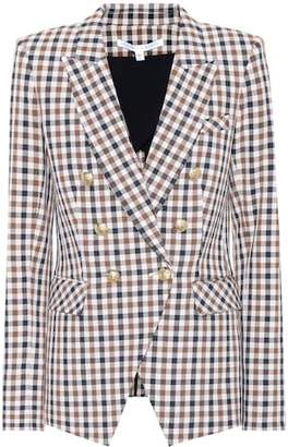 Veronica Beard Lonny Dickey plaid blazer
