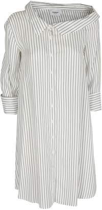 Dondup Pinstriped Shirt Dress